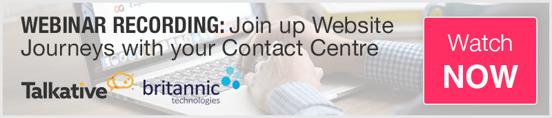 Webinar Recording: Join up Website Journeys with your Contact Centre