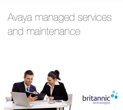 Download The Avaya Maintenance Brochure