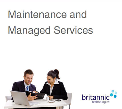 Maintenance and Managed Services Brochure