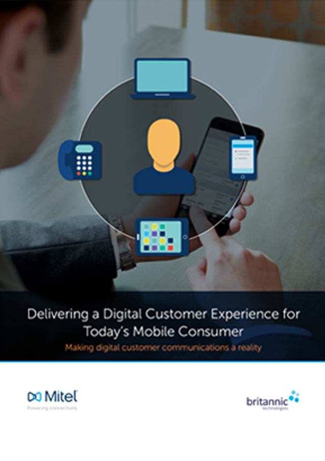 Mitel: Delivering a Digital Customer Experience for Today's Mobile Consumer