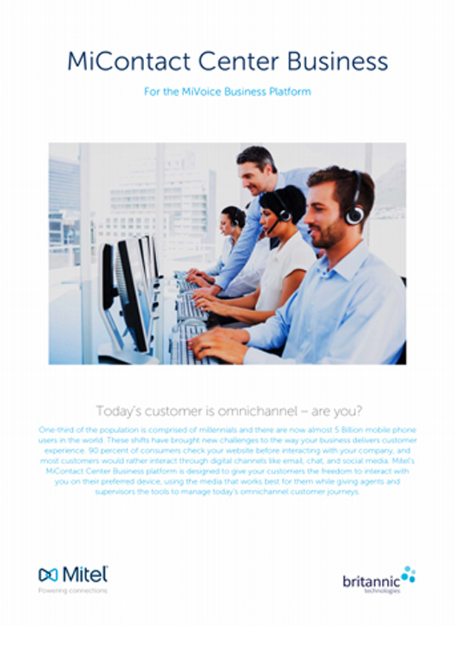 Mitel MiContact Center Business