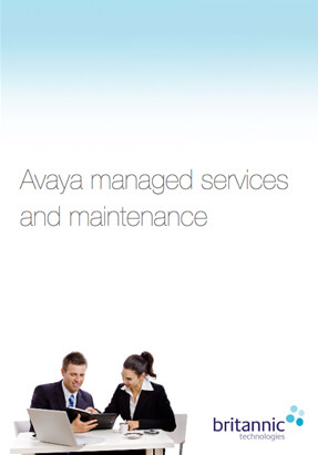 Avaya Maintenance and Managed Services Brochure