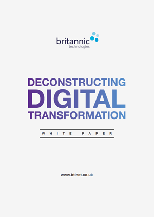 Deconstructing Digital Transformation
