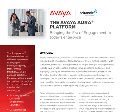 Avaya Aura Contact Centre