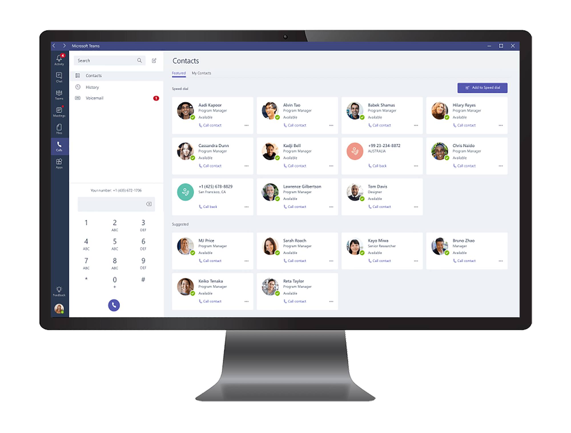 Call from Microsoft Teams
