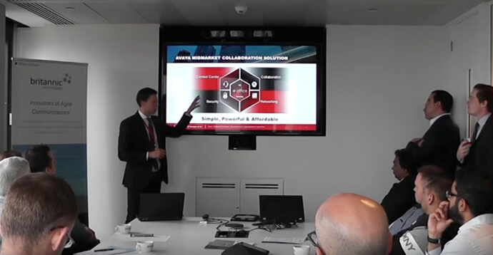 James Turner, Avaya IP Office, UC Update & Demo